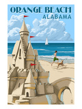 Orange Beach  Alabama - Sandcastle