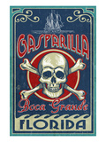 Boca Grande  Florida - Gasparilla Skull and Crossbones