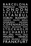 Europe Cities Bus Roll