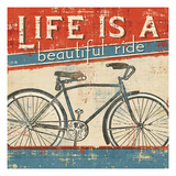 Beautiful Ride I Giclée premium par Pela