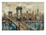 Vue de New York Giclée premium par Silvia Vassileva