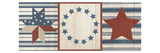 Americana Stars and Stripes I