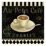 Cafe Parisien II Reproduction d'art par Daphne Brissonnet
