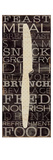 Kitchen Words III