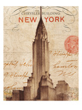 Letter from New York Giclée premium par Hugo Wild
