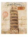 Letter from Pisa Giclée premium par Hugo Wild
