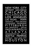 USA Cities Bus Roll