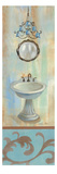 French Bathroom in Blue II
