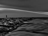On the Rocks Bw Papier Photo par Josh Adamski
