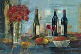 Fruit and Wine Reproduction d'art par Silvia Vassileva