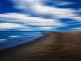 Blue Nights Papier Photo par Josh Adamski
