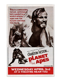 Planet of the Apes  Top: Charlton Heston  1968