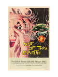 Not of This Earth  Beverly Garland  1957