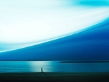 Promenade bleue Papier Photo par Josh Adamski