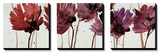 Blushing Blooms Tableau multi toiles par Natasha Barnes