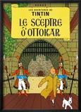 Le sceptre d'Ottokar (1939) Reproduction encadrée par Hergé (Georges Rémi)