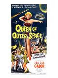 Queen of Outer Space  Center: Zsa Zsa Gabor  1958