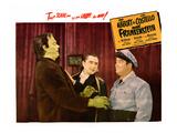 Abbott And Costello Meet Frankenstein  From Left: Glenn Strange  Bela Lugosi  Lou Costello  1948