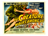 Creature Walks Among Us  The  Leigh Snowden  Jeff Morrow  Rex Reason  1956