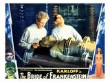 Bride of Frankenstein  Ernest Thesiger  Elsa Lanchester  Colin Clive  1935