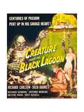 Creature From the Black Lagoon  Richard Carlson  Julie Adams  1954