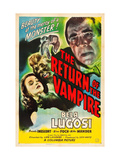 Return of the Vampire  Nina Foch  Matt Willis  Bela Lugosi  1944
