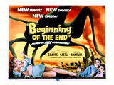 Beginning of the End  The  Peter Graves  Peggie Castle  1957