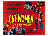 Cat-Women of the Moon  Bottom  Left From Left  Sonny Tufts  Marie Windsor  Victor Jory  1953