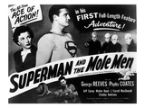 Superman And the Mole Men  Phyllis Coates  George Reeves  1951