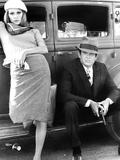 Bonnie and Clyde  Faye Dunaway  Warren Beatty  1967