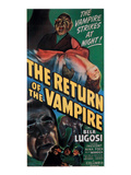 The Return of the Vampire  Bottom Left: Bela Lugosi  1944