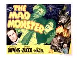 The Mad Monster  Johnny Downs  Glenn Strange  Anne Nagel  George Zucco  1942