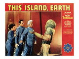 This Island  Earth  From Left: Faith Domergue  Rex Reason  Jeff Morrow  1955