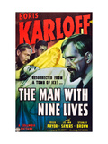 The Man With Nine Lives  Boris Karloff  1940