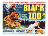 Black Zoo  Middle Right: Michael Gough  1963