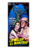 Creature From the Black Lagoon  (AKA La Mujer Y El Monstruo)  Julie Adams  Richard Carlson  1954