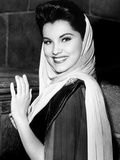 Prince Valiant  Debra Paget  On-Set  1954