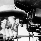 The Outlaw Josey Wales  Actor-Director Clint Eastwood  on Set  1976