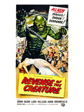 Revenge of the Creature  As 'The Gill Man': Tom Hennesy  Ricou Browning  1955