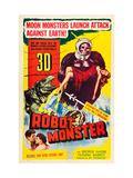 Robot Monster  Bottom  From Left: George Nader  Claudia Barrett  1953