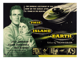 This Island Earth  L-R: Rex Reason  Faith Domergue  1955