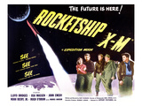 Rocketship X-M  Far Left: Osa Massen  Second From Left: Lloyd Bridges  1950