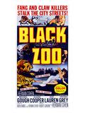 Black Zoo  Mid-Right: Michael Gough  1963