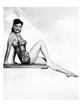 Neptune's Daughter  Esther Williams Posing on a Diving Board  1949