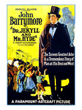 Dr Jekyll And Mr Hyde  Right: John Barrymore (As 'Dr Jekyll And Mr Hyde')  1920