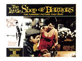 The Little Shop of Horrors  Jonathan Haze  Jackie Joseph  1960