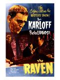 The Raven  Boris Karloff  Bela Lugosi  Samuel S Hinds  1935