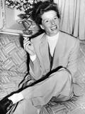 Katharine Hepburn in England in 1952
