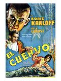 The Raven  (AKA El Cuervo)  Boris Karloff  Bela Lugosi  Irene Ware  1935