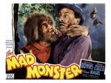 The Mad Monster  Glenn Strange (Left)  1942